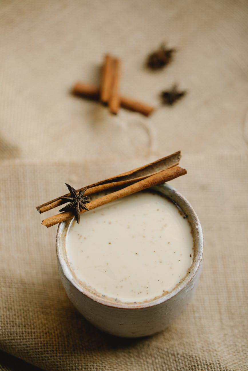 masala indian tea in mug